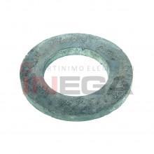 Siauros poveržlės DIN125A, plienas, 200 HV, karštai cinkuotos