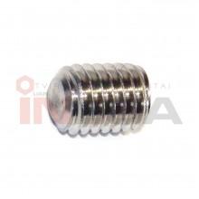 Fiksavimo varžtai DIN916/ISO4029, metriniu standartiniu sriegiu, nerūdijantis plienas A2
