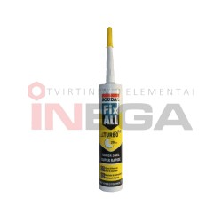 Hermetikas klijuojantis Fix all TURBO 290ml