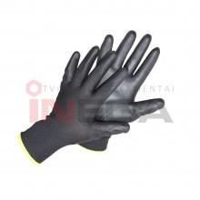 Pirštinės dengtos poliuretanu ultra-black (juodos)