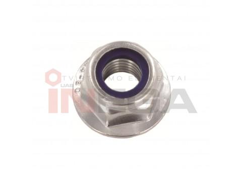 Šešiakampės veržlės su sijonėliu DIN6923/ISO4161, nerūdijantis plienas A2-70