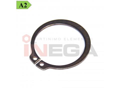 Fiksaciniai žiedai, išoriniai DIN471, spyruoklinis nerūdijantis plienas