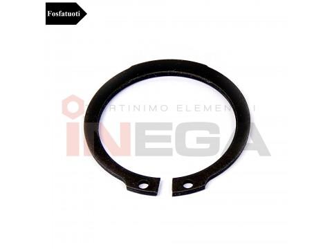 Fiksaciniai žiedai, išoriniai DIN471, plienas, fosfatuoti