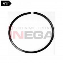 Fiksaciniai žiedai DIN5417, plienas, be padengimo