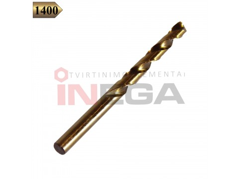 Grąžtai metalui DIN338 TEKNO XP HSSCo 8% M42