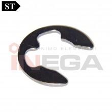 Fiksavimo žiedai DIN6799, plienas, be padendimo