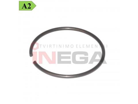 Fiksaciniai žiedai DIN7993, nerūdijantis plienas A2