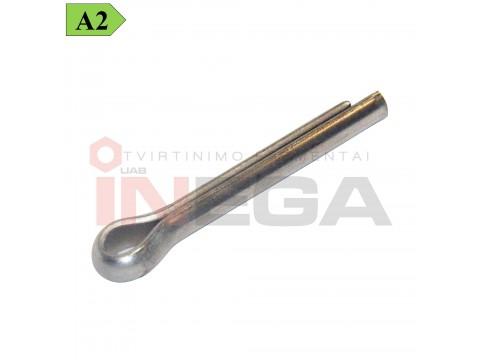 Vielokaištis DIN94/ISO1234, nerūdijantis plienas A2