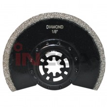 Daugiafunkcinio švytuoklinio pjūklo geležtė DIAMOND, segmentinė