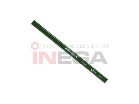 Žalias grafitinis pieštukas Expert, akmeniui