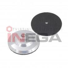 Aliuminis adapteris šlifavimo - poliravimo diskeliams Velcro