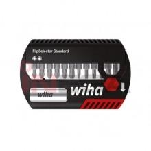 Antgaliukų rinkinys su prailginimu Wiha FlipSelector Standart W39041 (13vnt)
