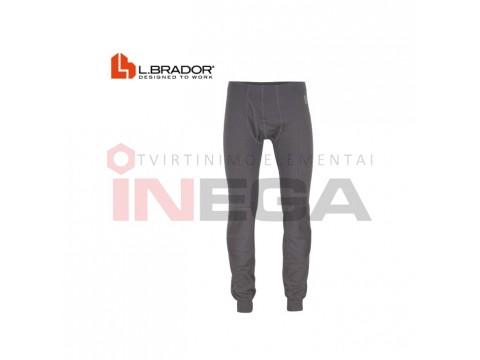 Apatinės kelnės L.Brador 712UP (merino vilna) (pilkos)