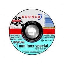 Diskas pjovimo Dronco Special plienui / nerūdyjančiam plienui