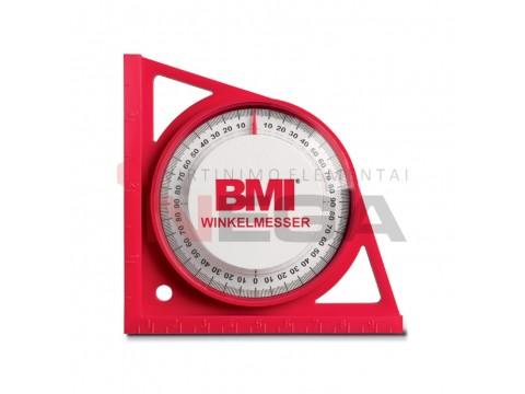 Kampų matuoklis BMI (raudonas)