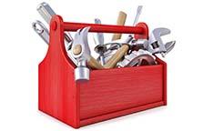 Įrankiai, darbo priemonės